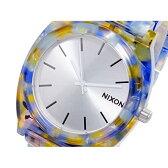A327-1116 NIXON ニクソン TIME TELLER ニクソン タイムテラー アセテート 鼈甲 べっ甲 べっこう アナログ メンズ 腕時計 就活