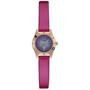 W0341L4GUESSゲス腕時計CUTESYキューテシーレディース紫パープル紫文字盤
