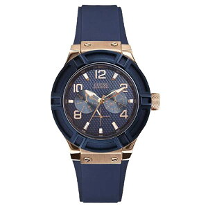 W0571L1GUESSゲス腕時計JETSETTERジェットセッターレディース青ブルー青文字盤