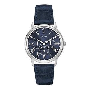W0496G3GUESSゲス腕時計WAFERウエハーメンズ青文字盤ブルー青