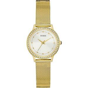 W0647L7GUESSゲスCHELSEAチェルシーLadiesDressゴールドアナログラインストーンレディース腕時計国内正規品送料無料