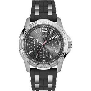 W0032G7GUESSゲスSPORTINGPINKスポーティングピンクLadiesSportsアナログ黒ブラッククロノグラフレディース腕時計国内正規品送料無料