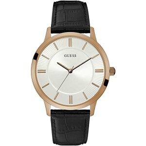 W0664G4GUESSゲスESCROWエスクローMensDressアナログピンクゴールドケースメンズ腕時計国内正規品送料無料
