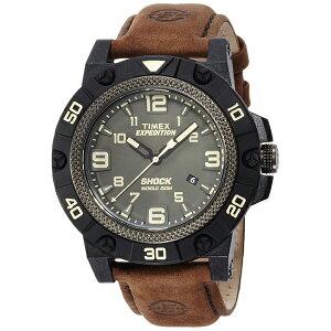 TW4B01200TIMEXタイメックス国内正規品フィールドショックブラウンメンズ腕時計