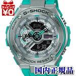 GST-410-2AJFカシオCASIOG-SHOCKGショックジーショックgshockGスチールG-STEEL×GA-110FACENYSUBWAYCOLORメンズ腕時計国内正規品送料無料