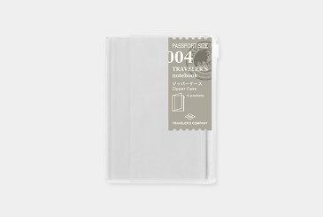 【トラベラーズノート】デザインフィルジッパーケース 004004 Zipper Case 14316-006【パスポートサイズ】