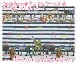 【L】アニマルワールド柄つや消しラミネート*約60cm単位カット*【生地 布 CandyParty ビニールコーティング生地】