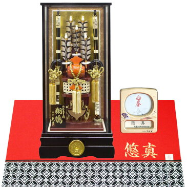 久月 家紋入り破魔弓 18号 翔鶴(高さ65cm)