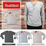 Healthknit ヘンリー Tシャツ オートミール