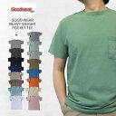 GOOD WEAR グッドウェア 7.2oz HEAVY WEIGHT POCKET TEE ヘビーウェイト ポケット付 半袖 Tシャツ MADE IN USA