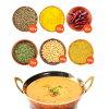 【送料無料・同梱包可能】チャナダールとムングダールの豆カレーセット【smtb-t】【あす楽対応】ダルカレーダールカレー