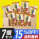15%OFF 送料無料 プロテインバー UHA味覚糖 SIXPACK シックスパック キャラメルピーナッツ味 7個セット 低糖質 その1