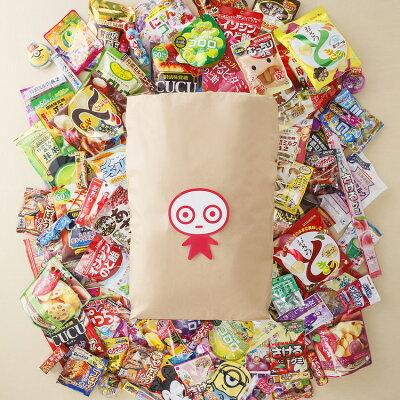 大量すぎて米袋入り!80種類以上ものお菓子が入ったUHA味覚糖の福袋