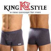 【King Style(キングスタイル)】網ポケット付爽快パンツ:トランクス(上向き)C4701