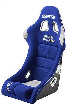【正規品】【FIA公認モデル】sparco(スパルコ) フルバケットシート REV Plus ブルー/青
