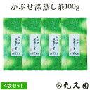 【メール便送料無料】かぶせ深蒸し茶 100g 4袋 セット京