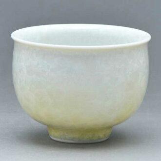 清水燒宋慧喬燒杯茶心理茶杯花水晶 (白茶) 是 kesshō (shiroji 陳) § 清水燒宋慧喬潔具禮品時尚杯茶杯宇治茶
