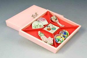 京焼 清水焼 京 焼き 京焼き 箸置き 5個セット 紙箱入り 京のひなまつり