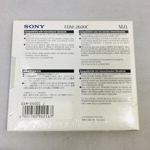 【中古】[SONY]SONY/5.25型MOディスク/EDM-2600C/2.6GB/未開封品