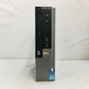 【中古】[DELL]OptiPlex7010USFF/Corei321203.3GHz/4GB/320GB/DVD-ROMドライブ/Windows7Pro/中古デスクトップOptiPlex7010USFF