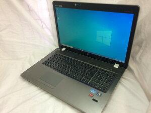 【中古】[hp]ProBook4730S/Corei32310M/2.1GHz/17.3インチ/DVDマルチ/windows7Pro64bitインストール済み