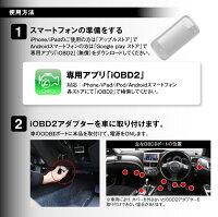 iOBD2日本語車両診断ツールBluetoothワイヤレスELM327OBD2iPhoneiPadAndroidアイフォンアイパッドアンドロイド