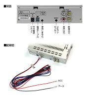 DVDプレーヤーDVDプレイヤー1DIN車載CPRM対応USBSDスロットRCA映像2系統出力VRモードラストメモリーFMトランスミッター24V05P01Mar15