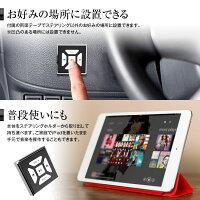 【定形外送料無料】Bluetoothマルチメディアリモコンステアリングハンドル車載スマホコントローラーiPhoneスマートフォンタブレットメディアプレーヤー音楽配信アプリ操作ステアリングリモコン