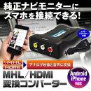 純正モニターにスマホを接続する!HDMI変換コンバーター