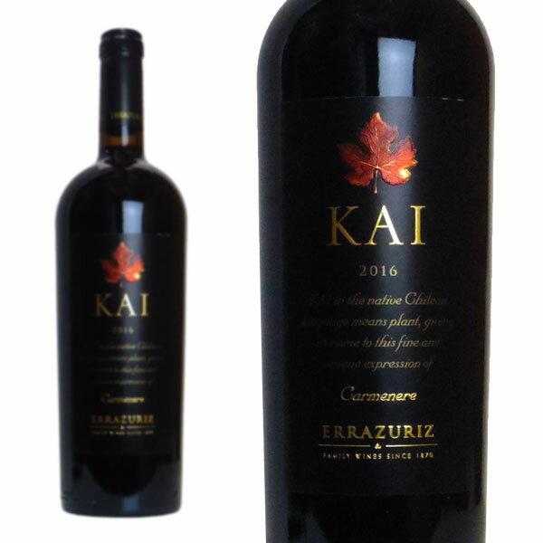 カイ 2016年 ヴィーニャ・エラスリス 750ml (チリ 赤ワイン)