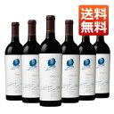 【送料無料】オーパスワン 2015年 750ml 6本セット(アメリカ カリフォルニア 赤ワイン)