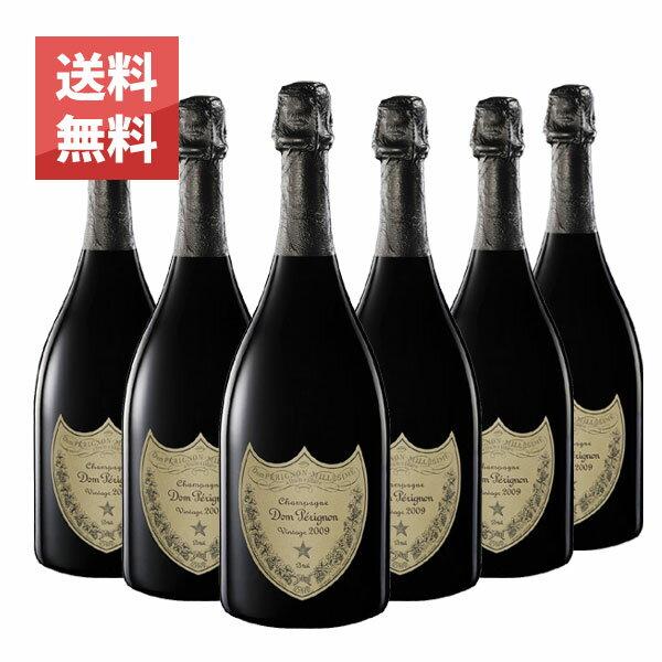 ドン ペリニヨン 2009年 750ml 6本セット 正規 (フランス シャンパン 白 箱なし) 送料無料