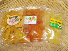 子供のおやつに最適です南国の味がギュギュギュッとつまったドライフルーツセット♪送料無料【...