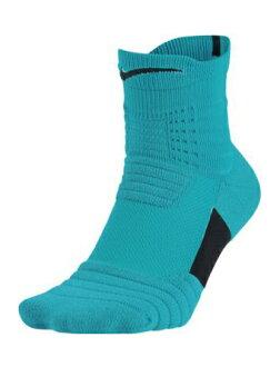 籃球短襪服裝中間船員短襪耐吉Nike Socks Elite Versatility Quater Cobalt/Crimson
