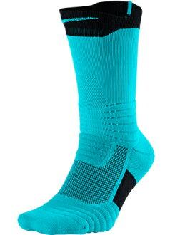 籃球短襪服裝船員短襪耐吉Nike Socks Elite Versatility Crew Blue/Blk