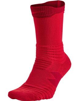 籃球短襪服裝船員短襪耐吉Nike Socks Elite Versatility Crew Red
