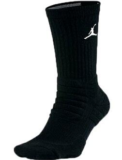 籃球短襪服裝船員短襪耐吉Nike Socks AJ Advance Crew Blk/Wht