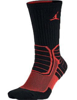 籃球短襪服裝船員短襪耐吉Nike Socks AJ Advance Crew Blk/M.Org