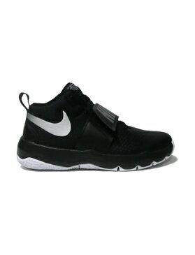 バスケットシューズ ジュニア キッズ バッシュ ナイキ Nike Team Hustle D 8 GS GS Blk/Sil 【GS】キッズ