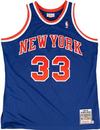 バスケットジャージ ウェア   ミッチェルアンドネス Mitchell&Ness NBA Authentic Collection Jersey 1991-1992 Ewing   ランニング トレーニング ストリート 【MEN