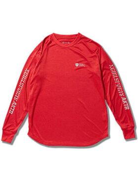 バスケットロング Tシャツ ジュニア レディーズ ウェア アクター AKTR X-girl SpxAKTR STREET L/S SP TEE Red ウーメンズモデル 女性用 【WOMEN'S】アパレル
