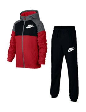 バスケットセットアップ ジュニア キッズ ウェア ナイキ Nike YTH Winger Woven Track Suit GS U.Red/Blk/D.Gry 【BOY'S】 キッズ アパレル