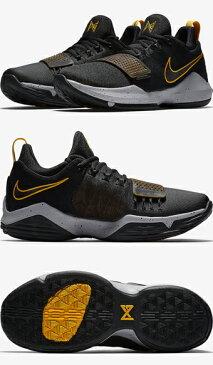 バスケットシューズ バッシュ ナイキ Nike PG 1 EP Blk/U.Gold/W.Gry