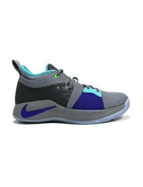 バスケットシューズ ジュニア キッズ バッシュ ナイキ Nike PG 2 GS GS P.Platinum/N.Turq/W.Gry/A.Grn 【GS】キッズ
