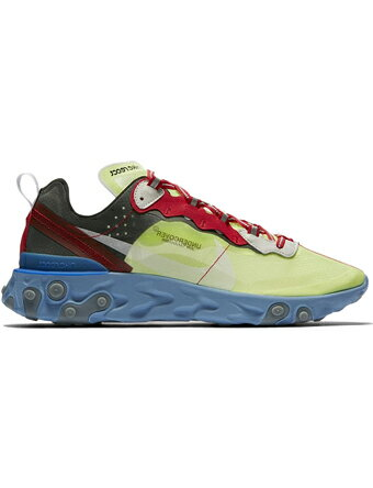 シューズ スニーカー   ナイキ Nike Undercover x Nike React Element 87 Volt/Blk/U.Red   ストリート
