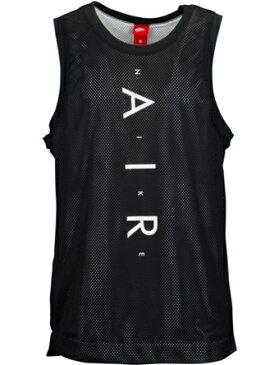 バスケットノースリーブ タンクトップ ウェア ナイキ Nike Air Knit Tank Blk/Wht ランニング トレーニング ストリート 【MEN'S】