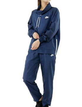バスケットセットアップ ジュニア レディーズ ウェア ナイキ Nike Wmns Woven Open Hem Track Suit B.Blu ウーメンズモデル 女性用 ランニング トレーニング ストリート 【WOMEN'S】アパレル