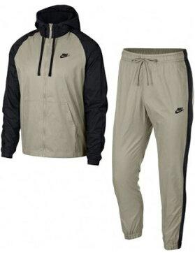 バスケットセットアップ ウェア ナイキ Nike Woven Hoodie Track Suit Blk/String ランニング トレーニング ストリート 【MEN'S】