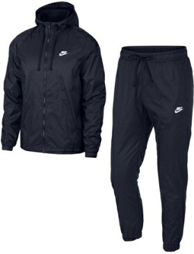 バスケットセットアップ ウェア ナイキ Nike Woven Hoodie Track Suit Obsidean ランニング トレーニング ストリート 【MEN'S】