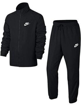 バスケットセットアップ ウェア ナイキ Nike Woven Basic Track Suit Blk ランニング トレーニング ストリート 【MEN'S】